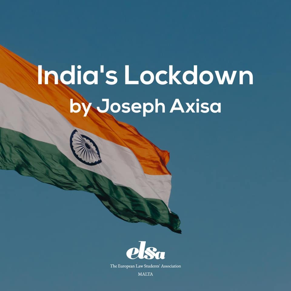 A legal analysis of India's nationwide lockdown in light of the COVID-19 pandemic