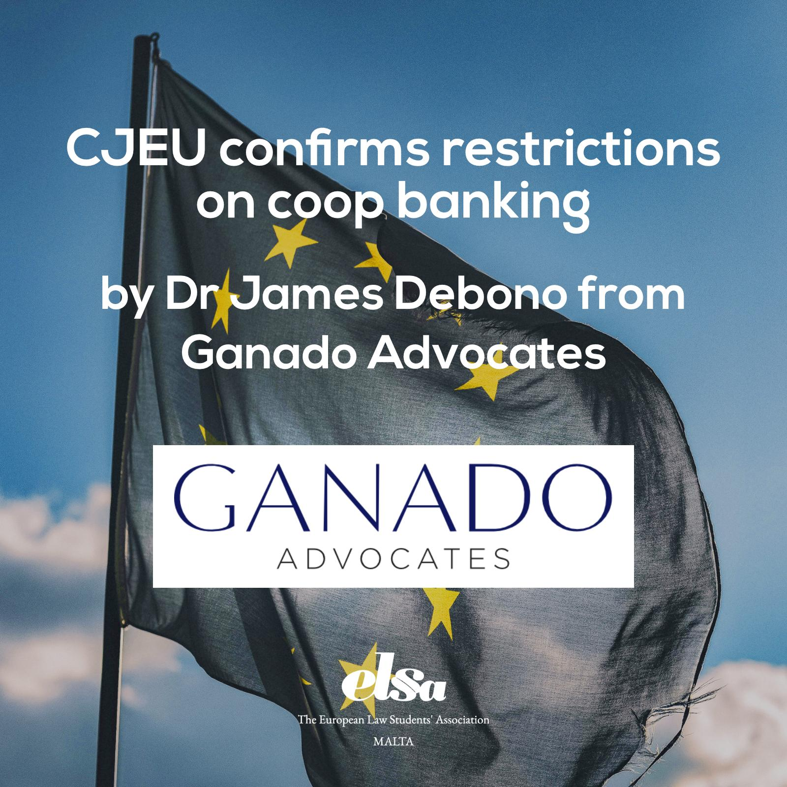 CJEU confirms restrictions on coop banking
