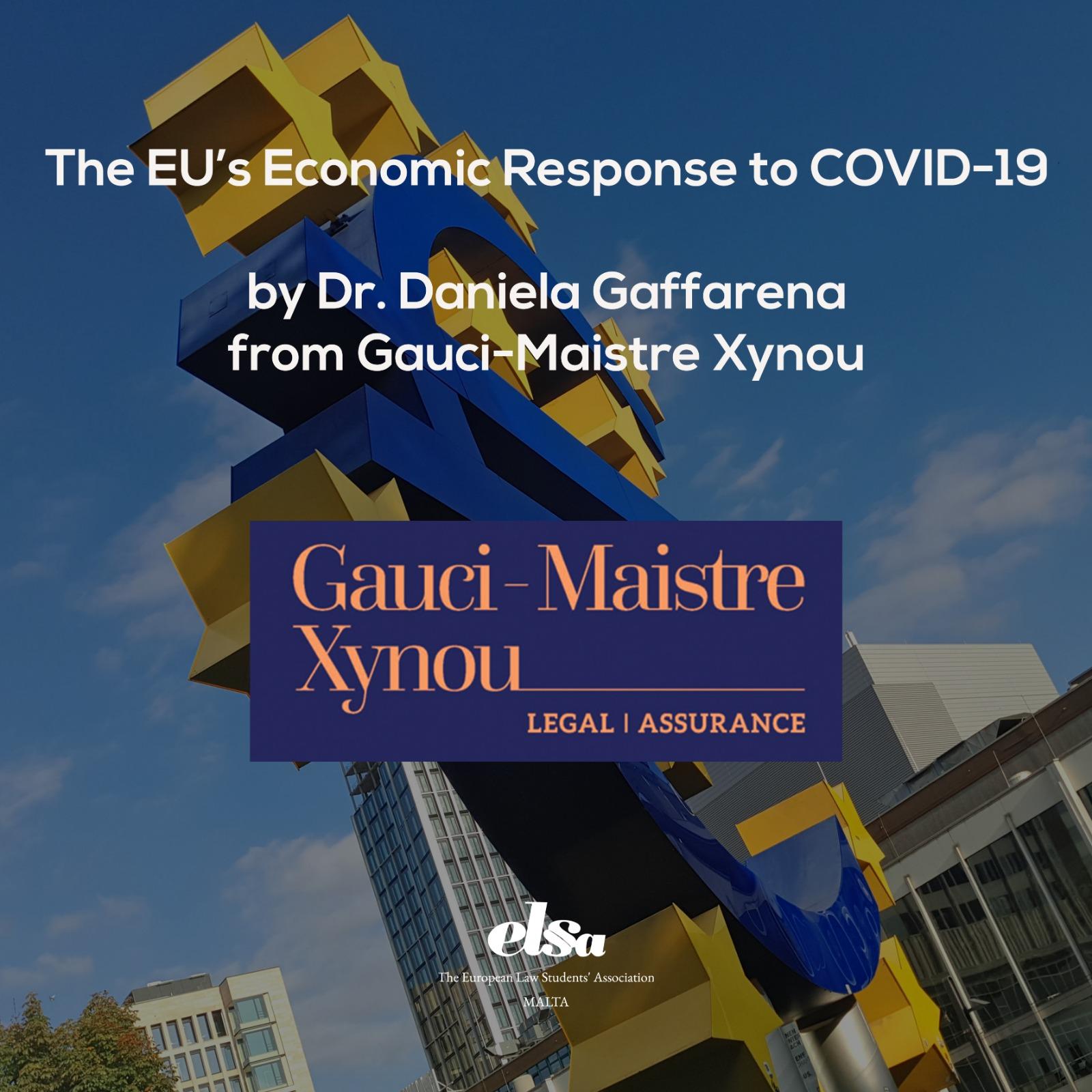 The EU's Economic Response to COVID-19