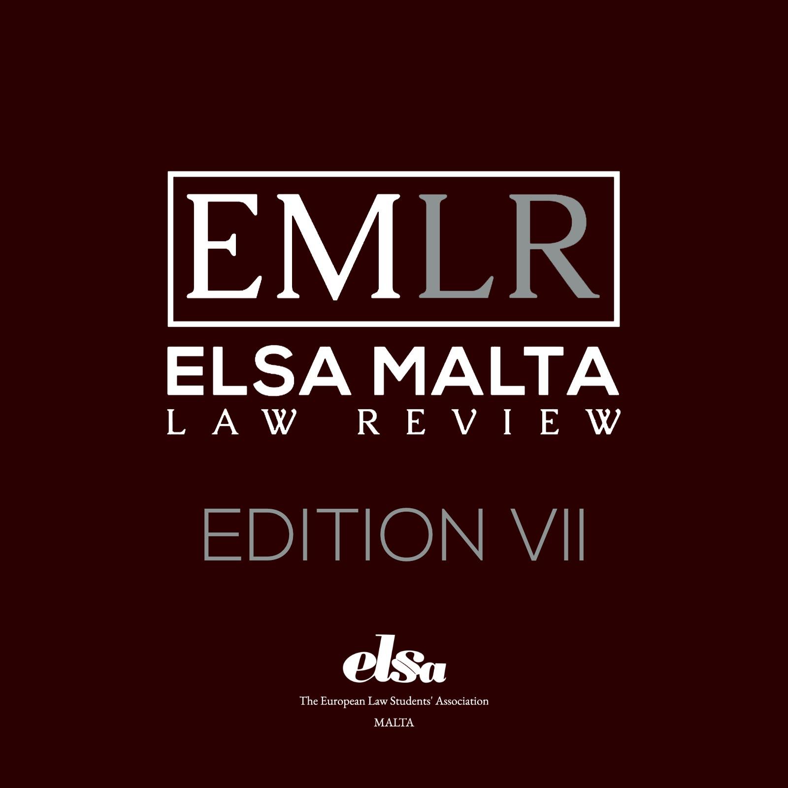 Edition VII